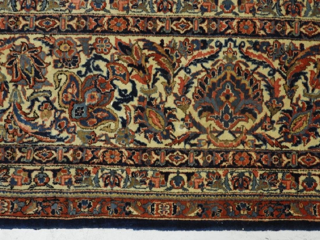 LG Persian Keshan Wool Carpet Rug - 4