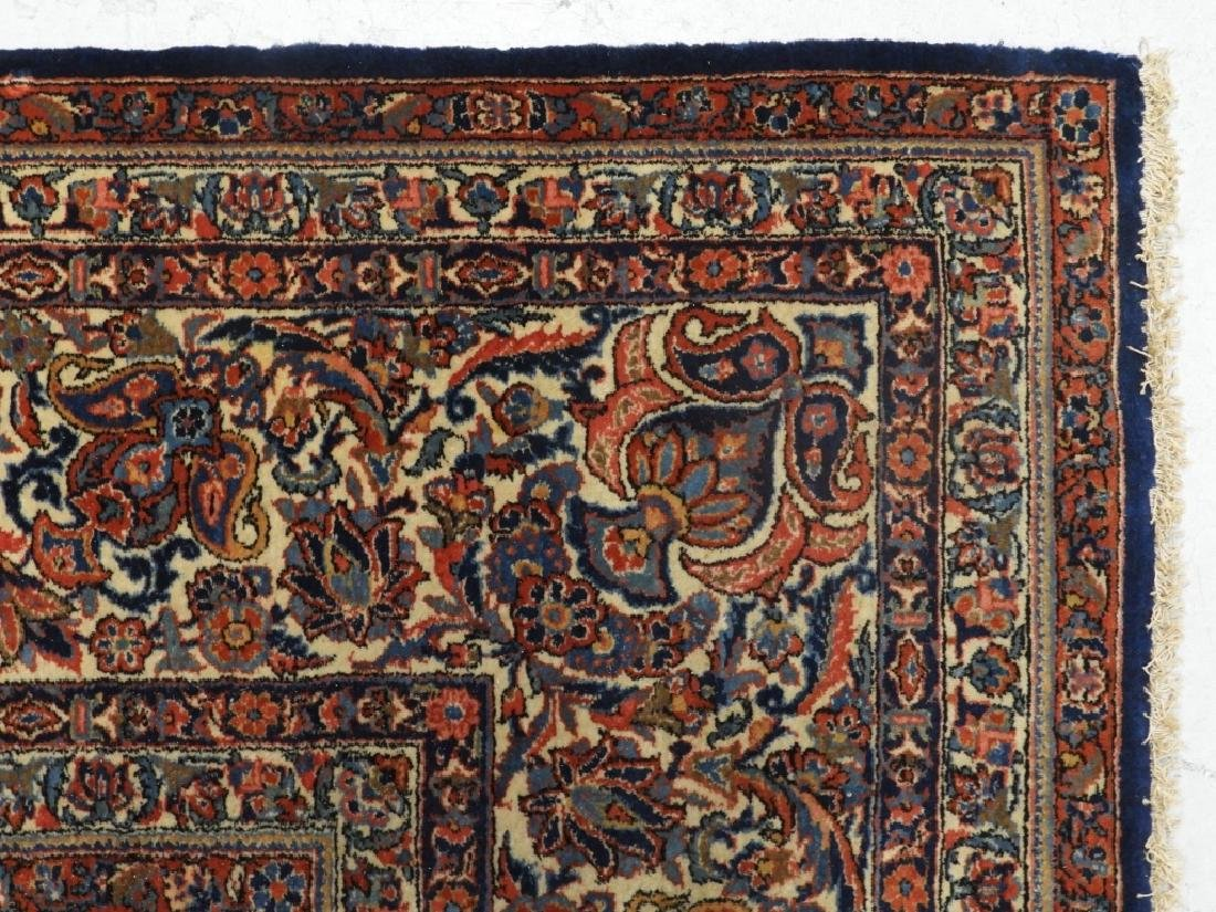 LG Persian Keshan Wool Carpet Rug - 6