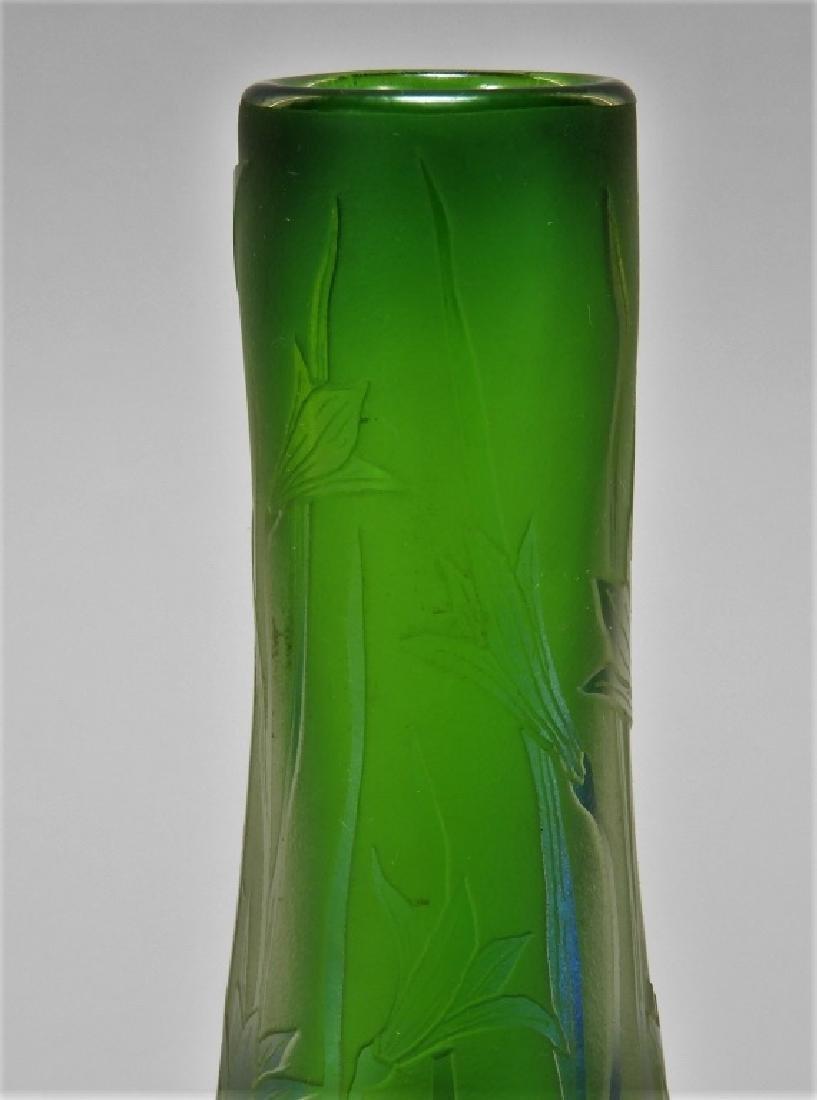 Dan Shura for Orient & Flume Cameo Glass Vase - 3