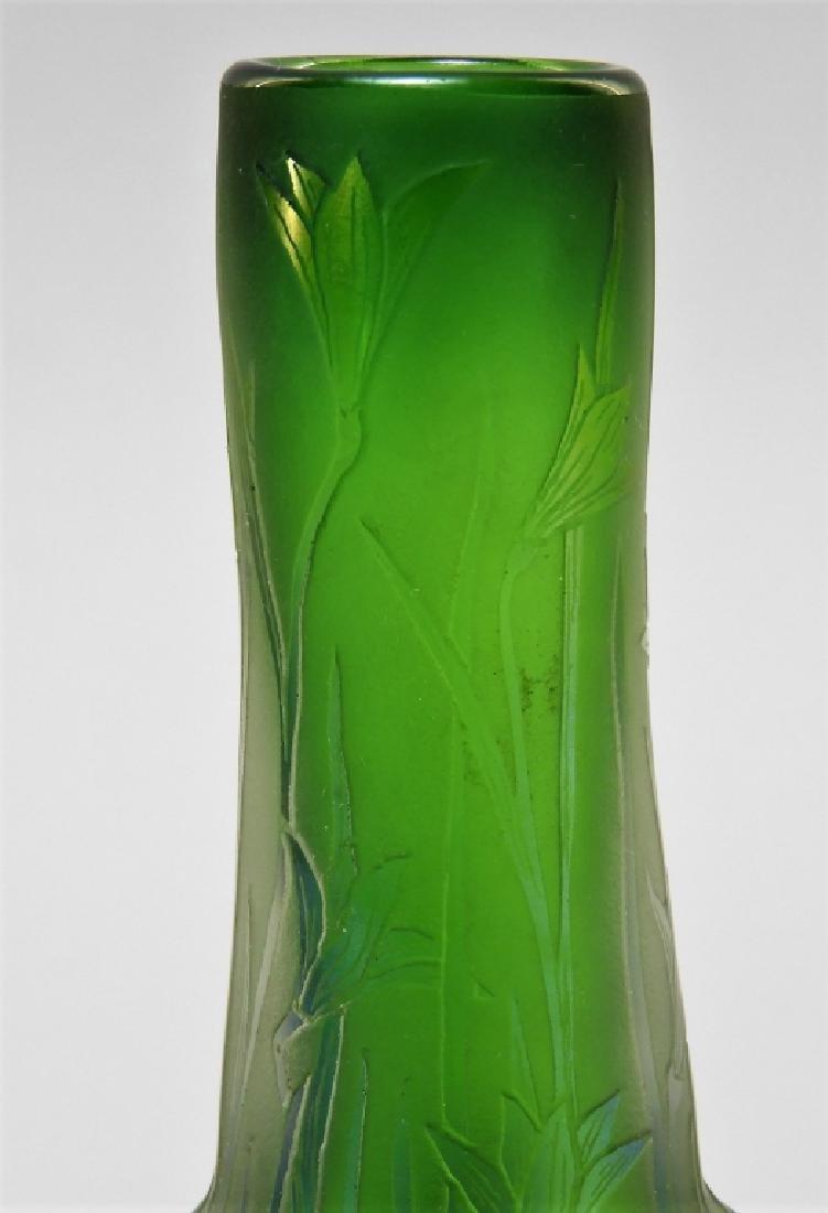 Dan Shura for Orient & Flume Cameo Glass Vase - 4