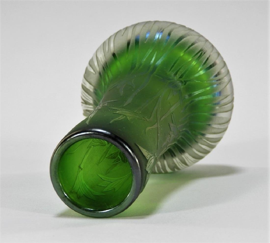 Dan Shura for Orient & Flume Cameo Glass Vase - 6