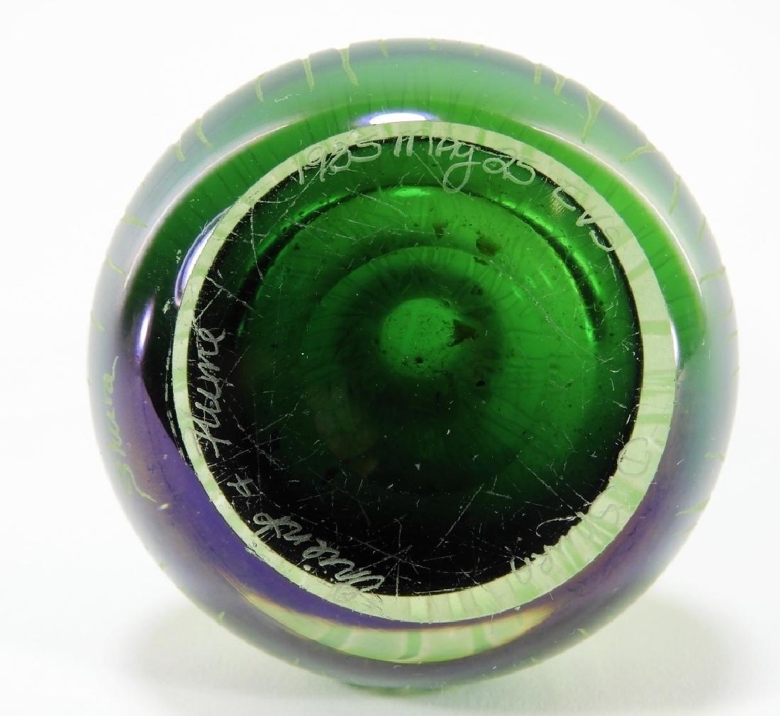 Dan Shura for Orient & Flume Cameo Glass Vase - 8