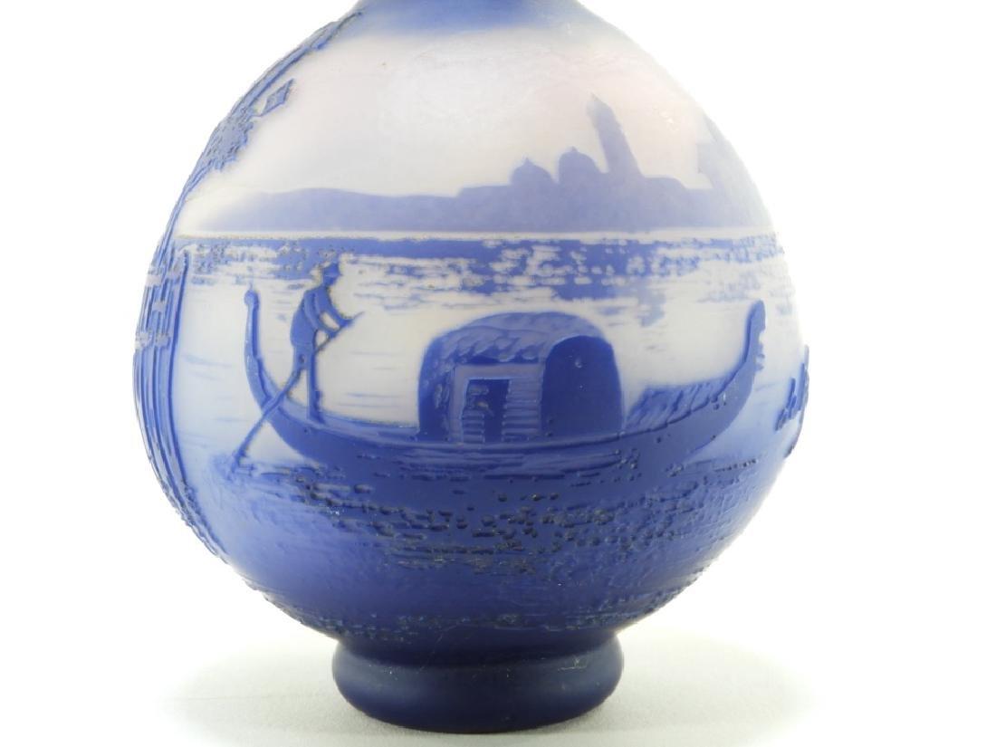 Cristallerie de Pantin DeVez Cameo Glass Vase - 2