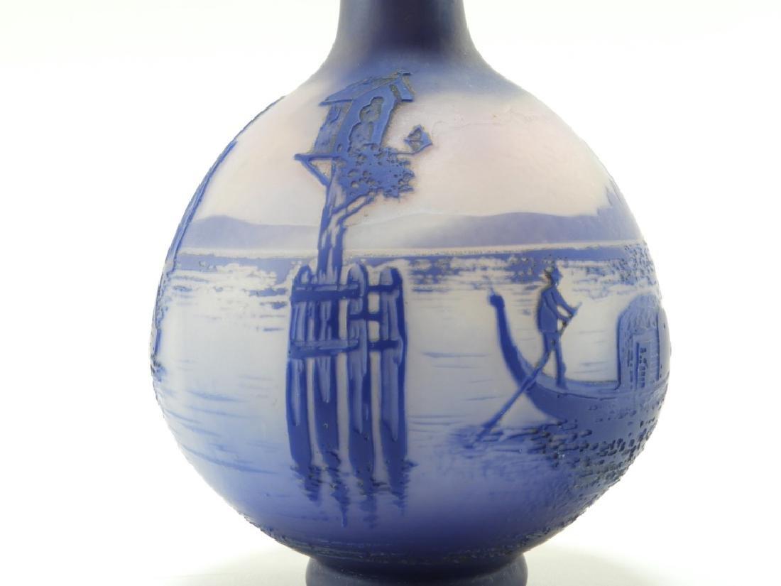 Cristallerie de Pantin DeVez Cameo Glass Vase - 6