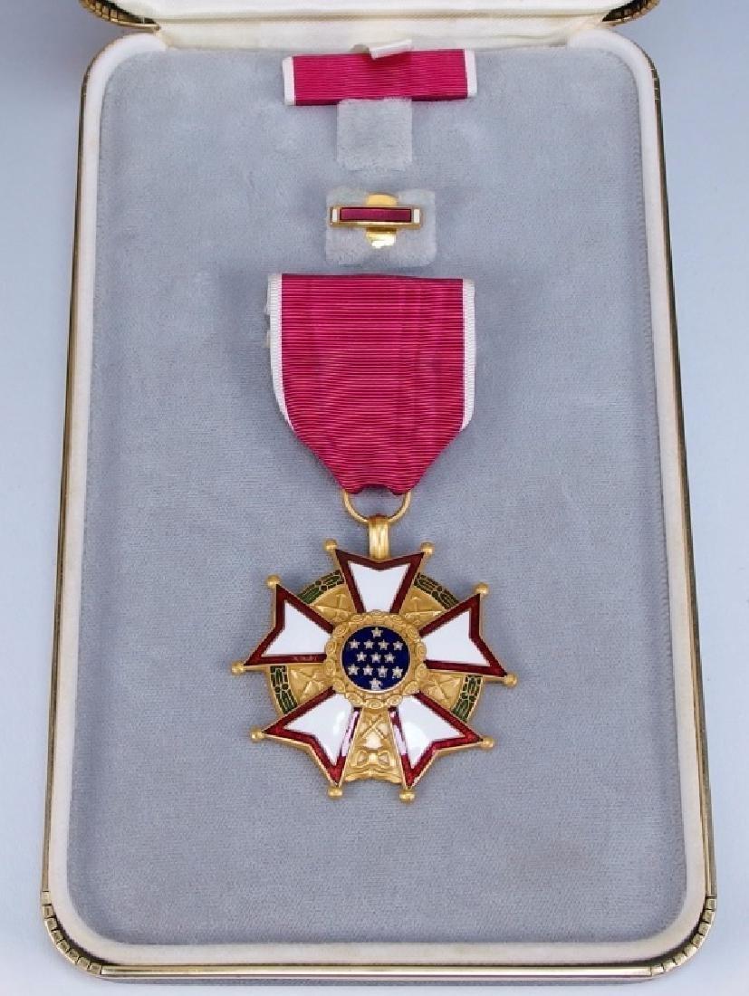 US Legion of Merit Medal to Paul Lavault