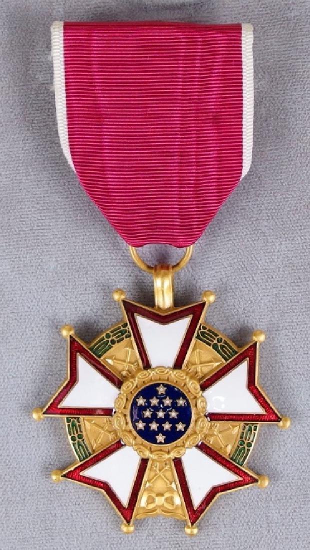 US Legion of Merit Medal to Paul Lavault - 2