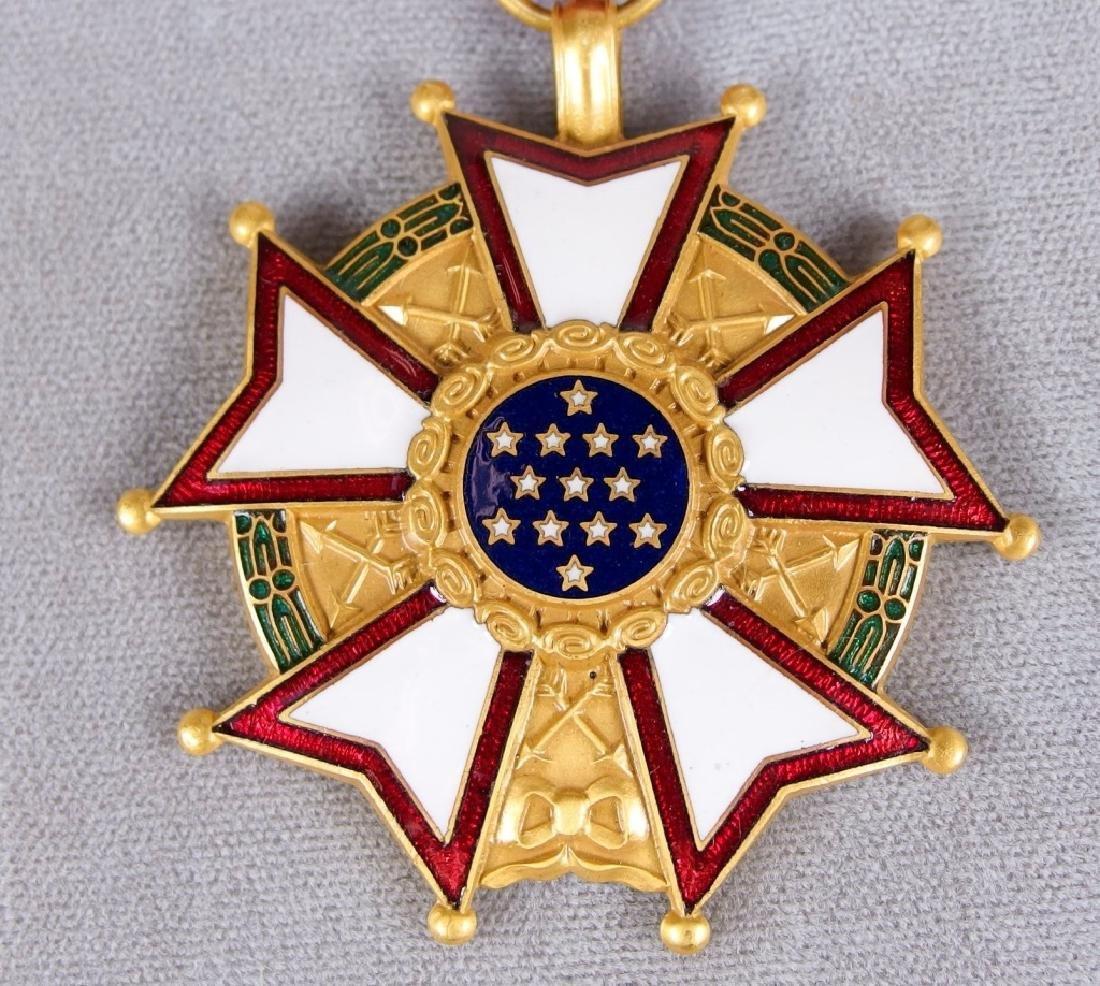 US Legion of Merit Medal to Paul Lavault - 3
