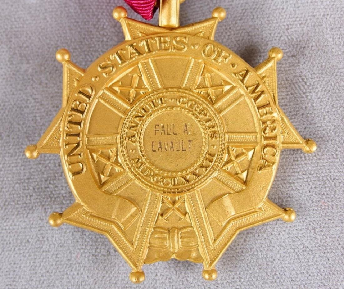 US Legion of Merit Medal to Paul Lavault - 4