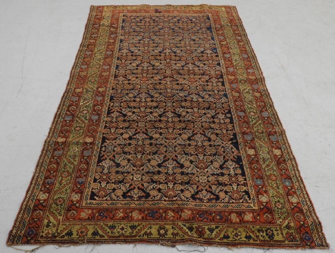Middle Eastern Malayir Hamhadan Carpet Rug