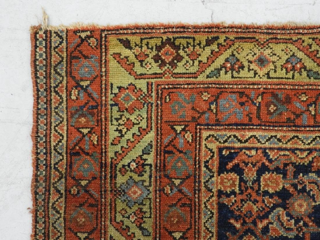 Middle Eastern Malayir Hamhadan Carpet Rug - 3