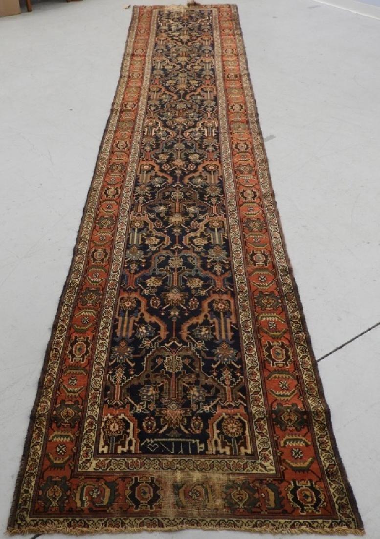 NW Persian Kurdish Wool Carpet Runner