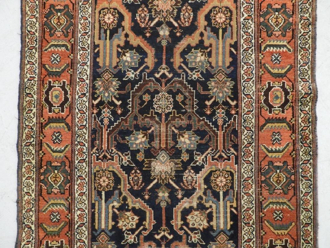 NW Persian Kurdish Wool Carpet Runner - 2