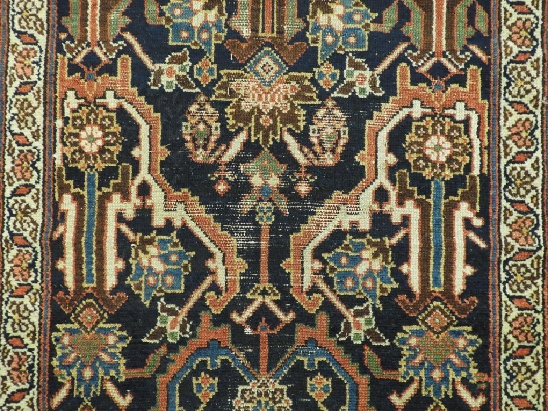 NW Persian Kurdish Wool Carpet Runner - 3