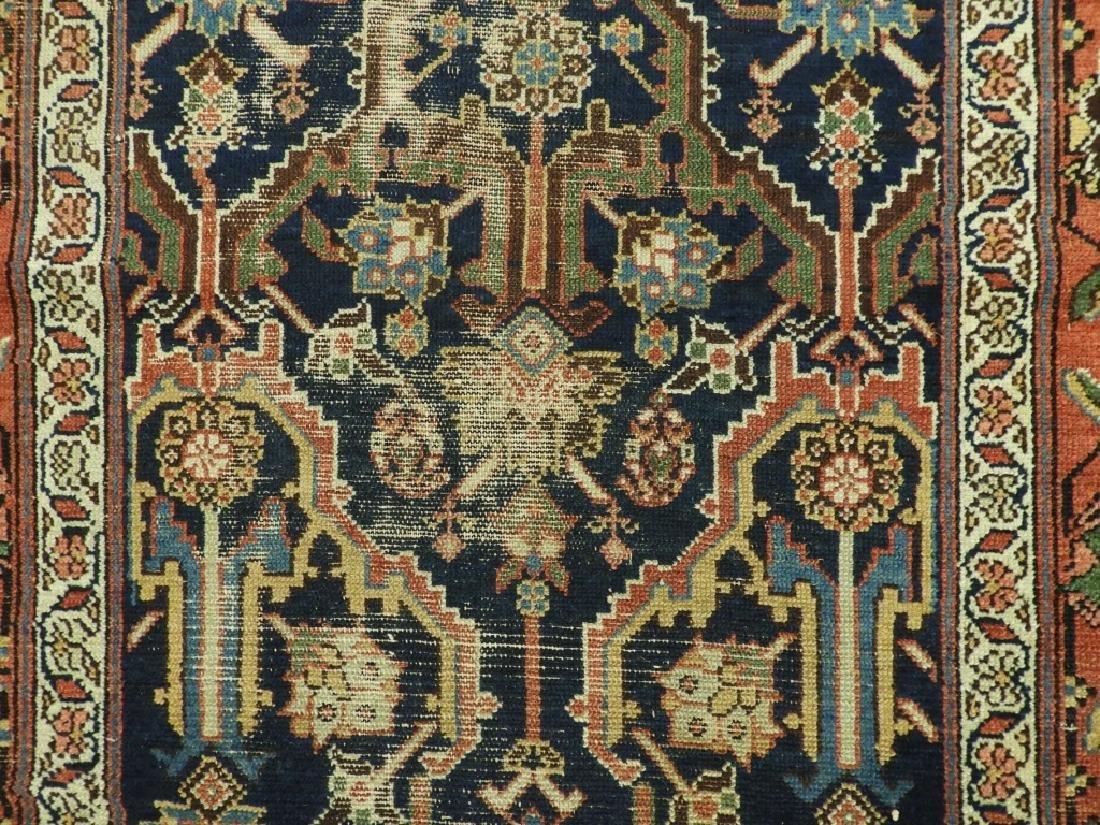 NW Persian Kurdish Wool Carpet Runner - 4