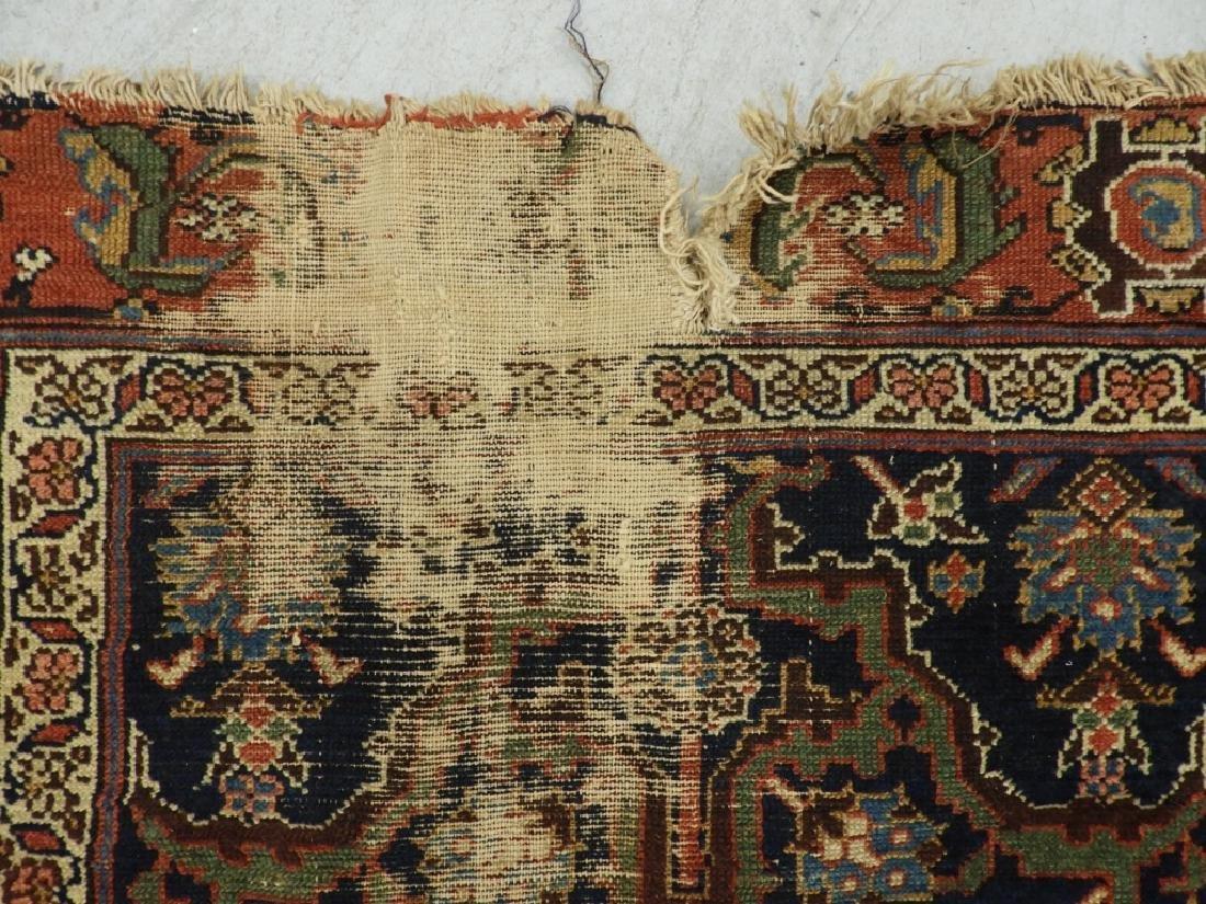NW Persian Kurdish Wool Carpet Runner - 5