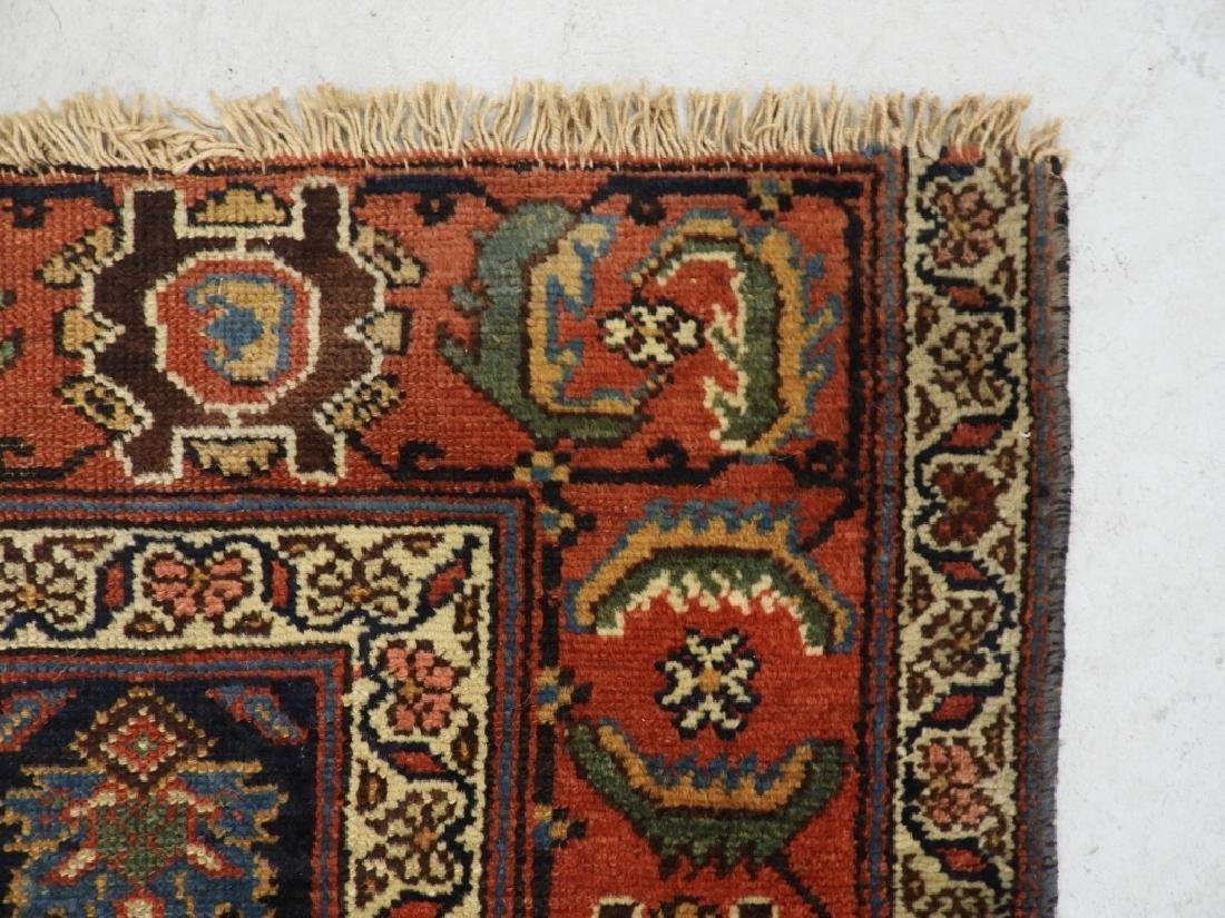 NW Persian Kurdish Wool Carpet Runner - 6