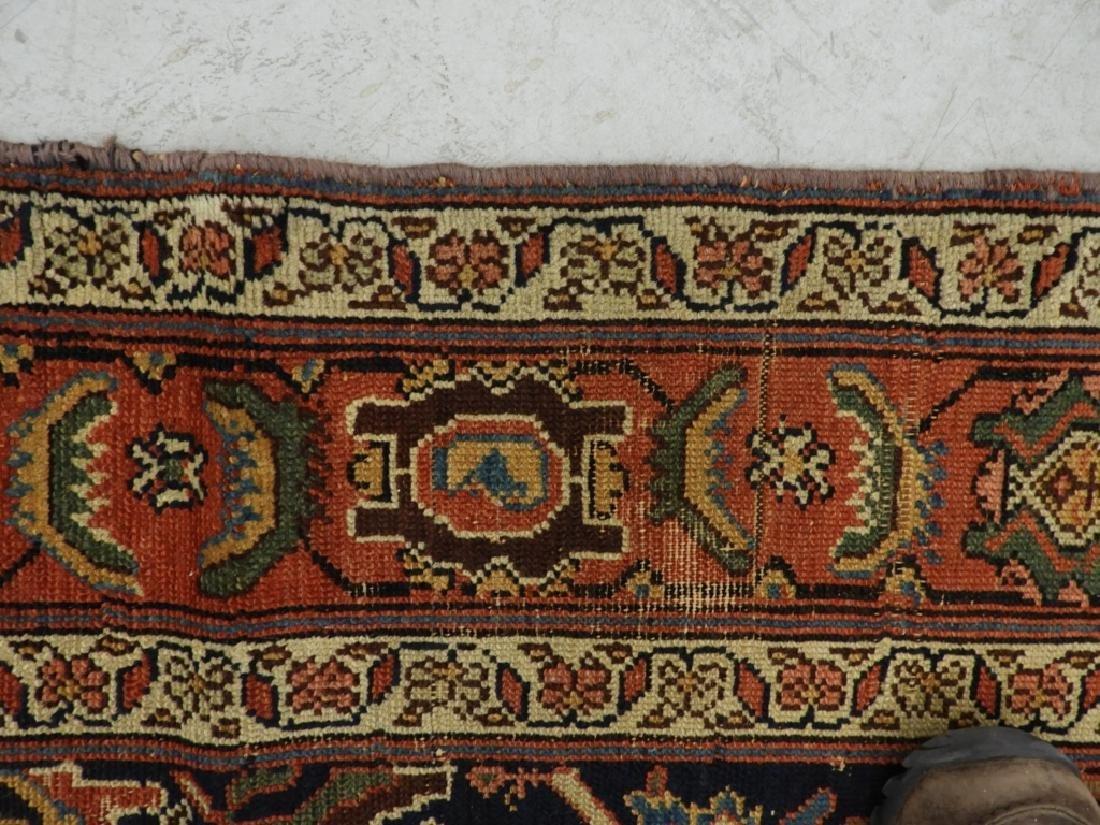 NW Persian Kurdish Wool Carpet Runner - 7
