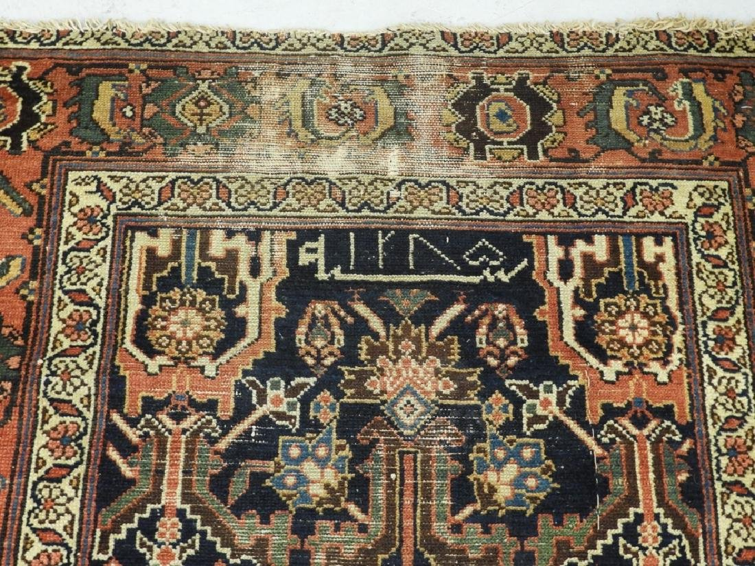 NW Persian Kurdish Wool Carpet Runner - 8