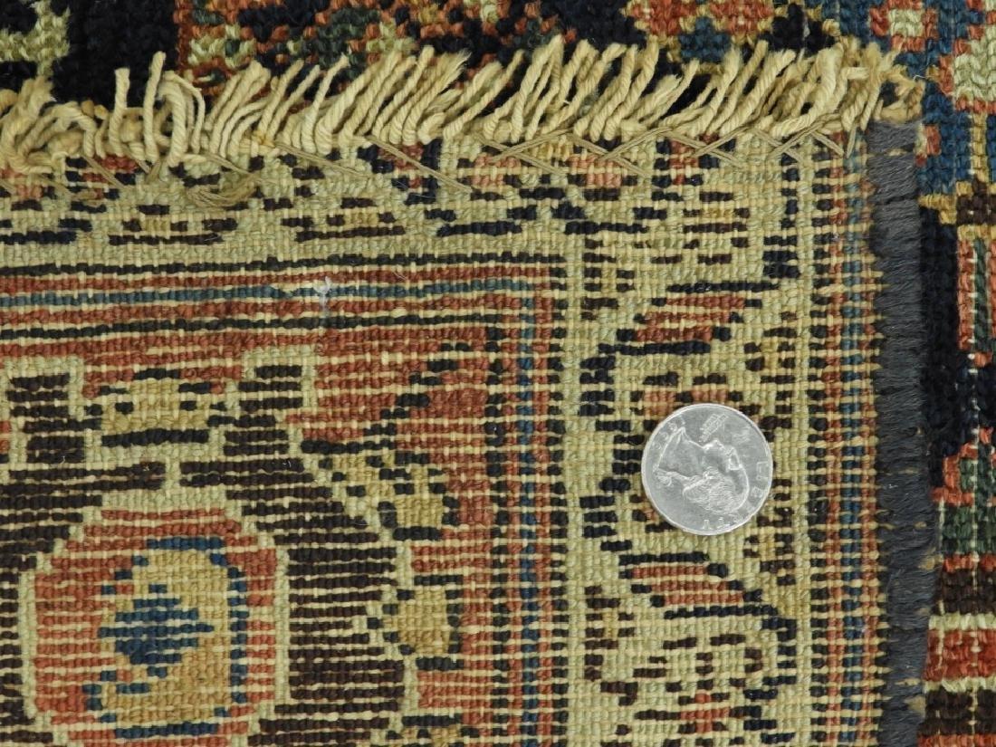 NW Persian Kurdish Wool Carpet Runner - 9