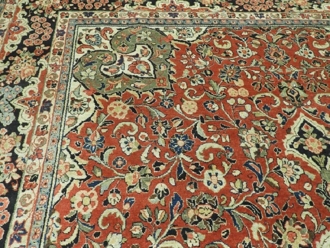 C.1900 Persian Room Sized Carpet - 6