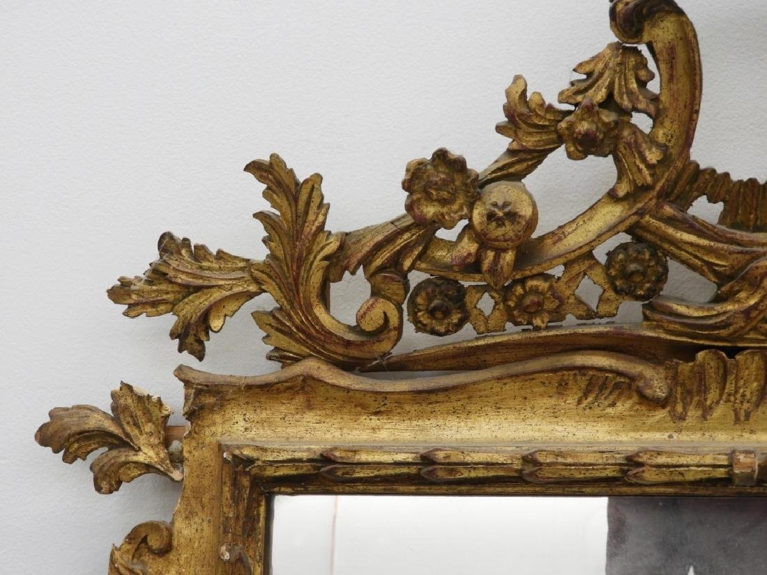 PR Italian Florentine Gilt Chinoiserie Mirror - 3
