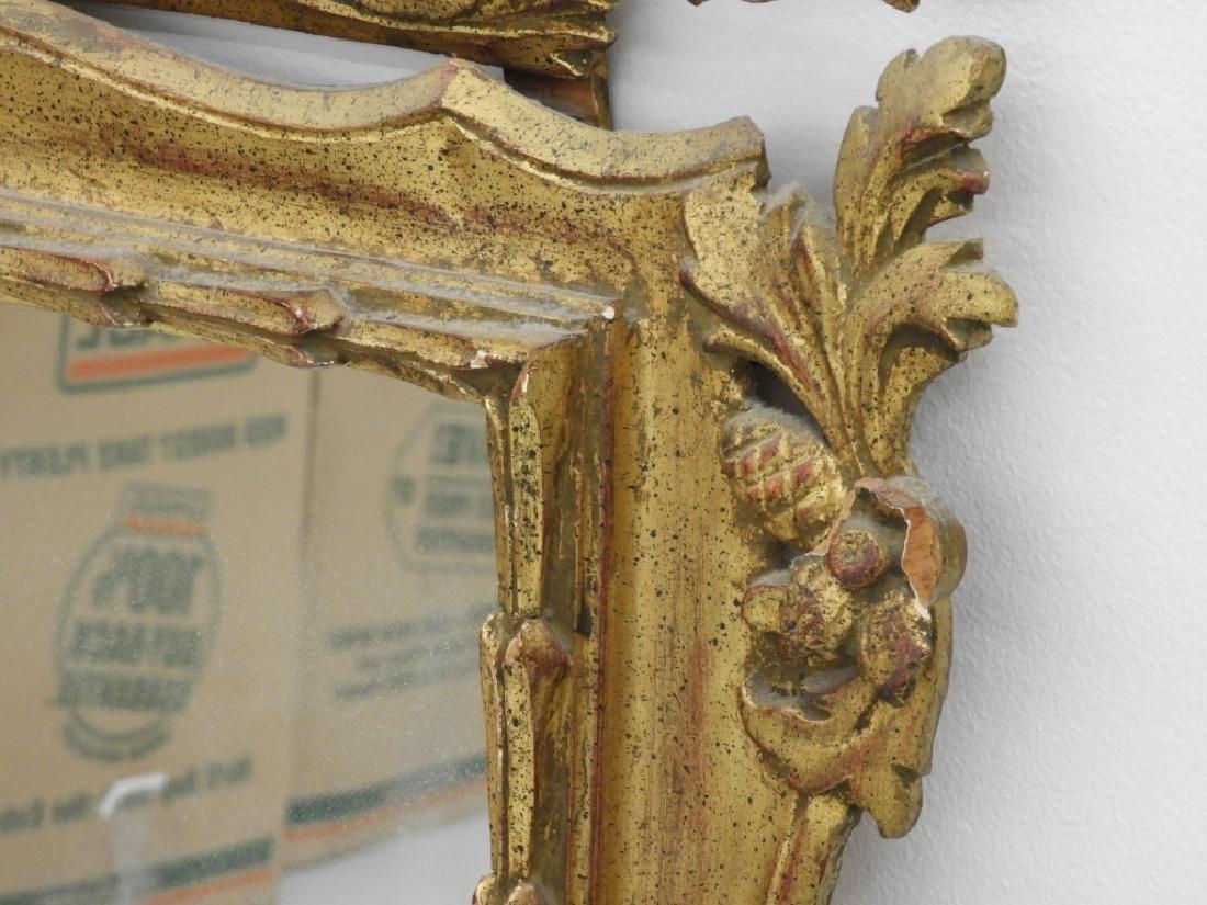 PR Italian Florentine Gilt Chinoiserie Mirror - 7