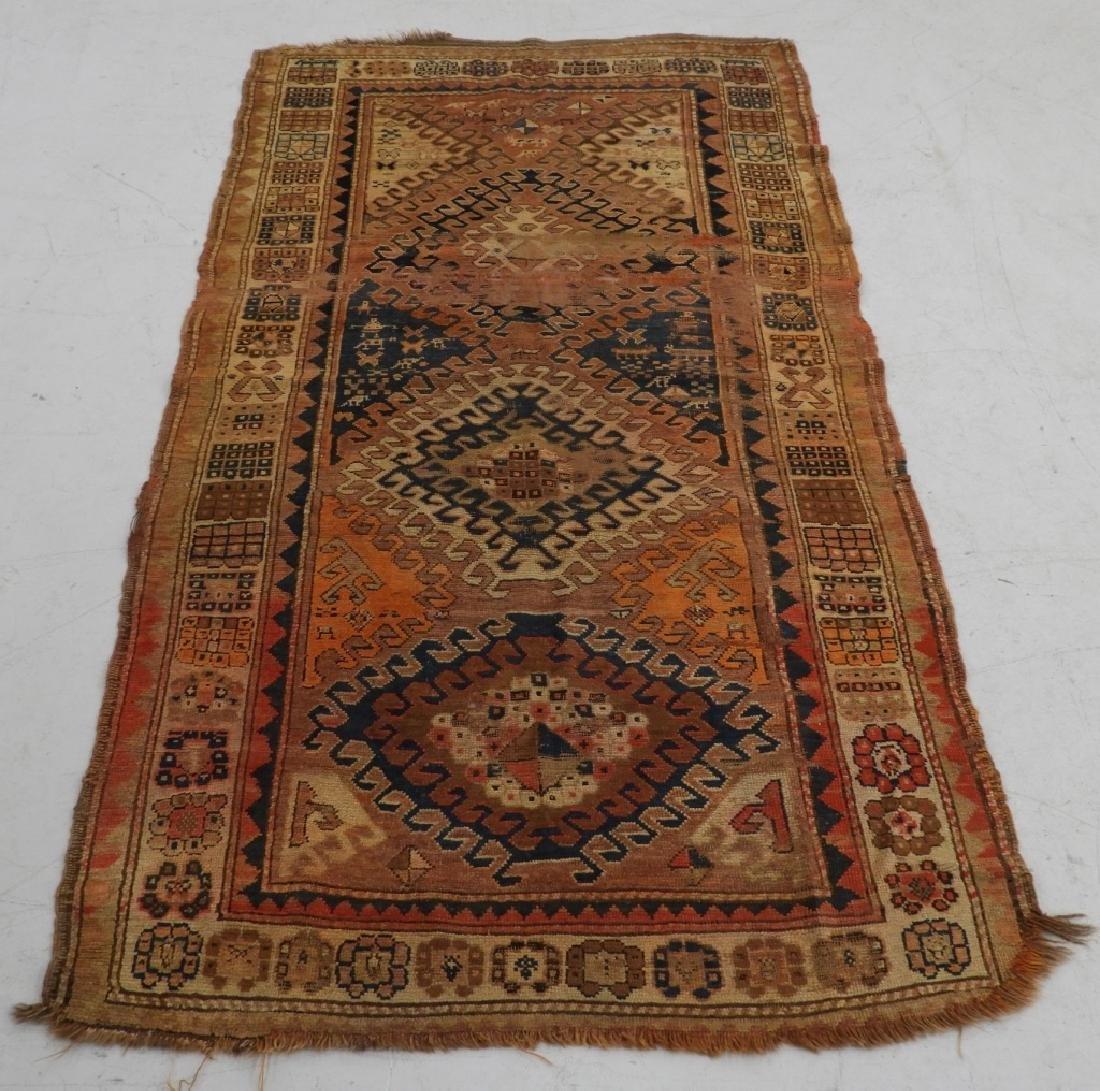 Middle Eastern Kurdish Borchalou Carpet Rug