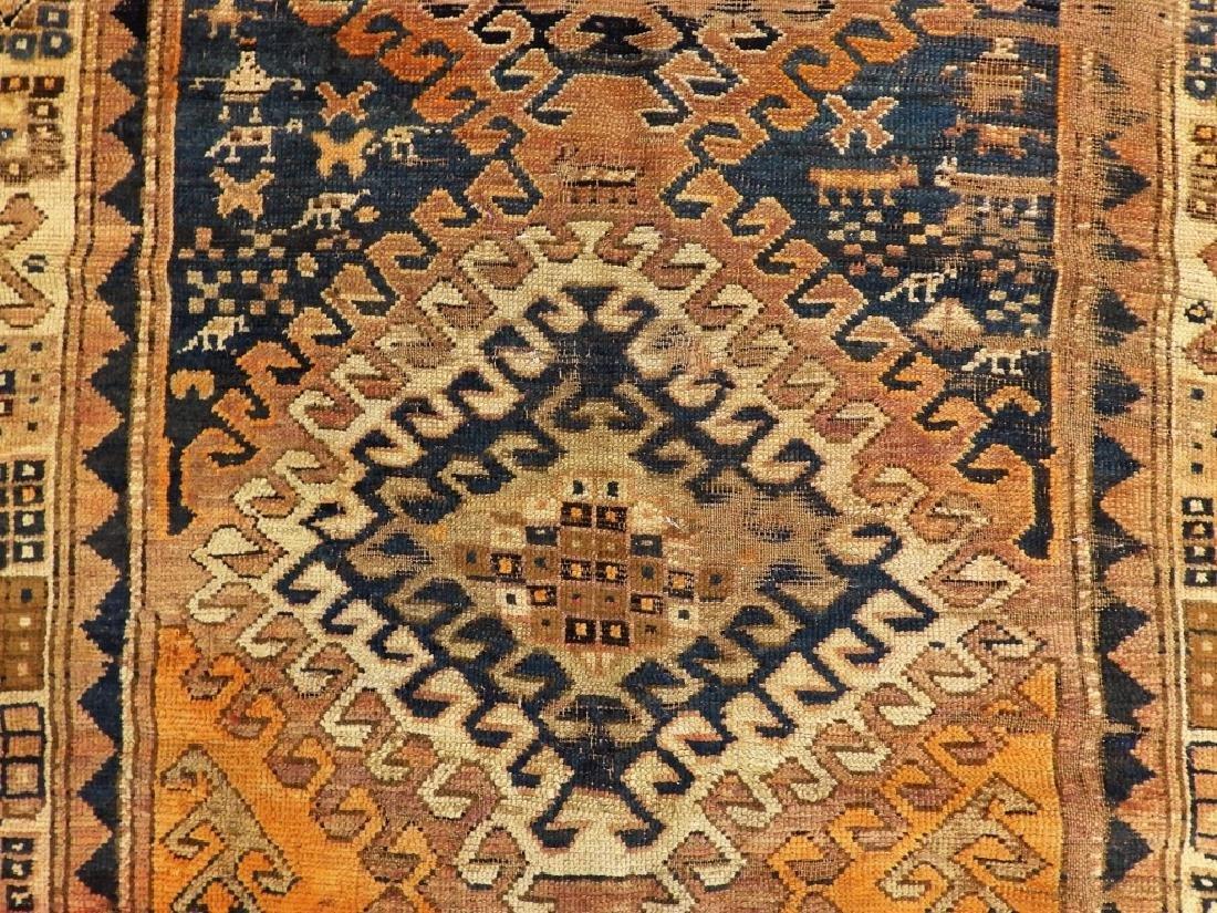 Middle Eastern Kurdish Borchalou Carpet Rug - 2