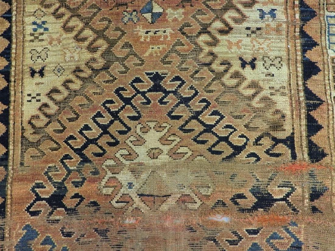 Middle Eastern Kurdish Borchalou Carpet Rug - 3