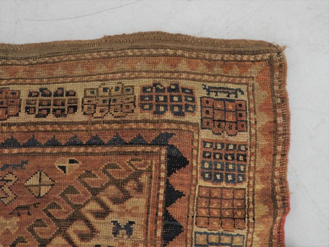 Middle Eastern Kurdish Borchalou Carpet Rug - 4