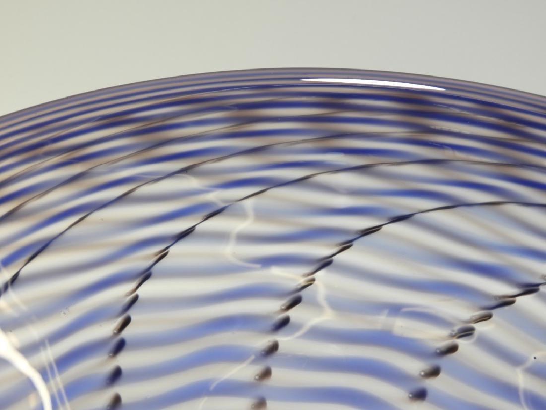 Simon Pearce Signed Studio Art Glass Bowl - 2