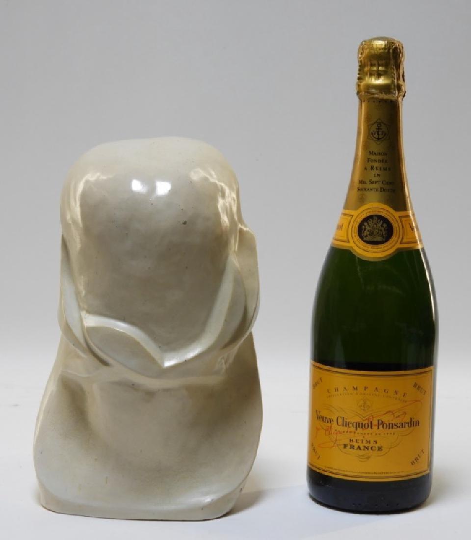 Aft Brancusi Modernist Pottery Muse Head Sculpture - 5
