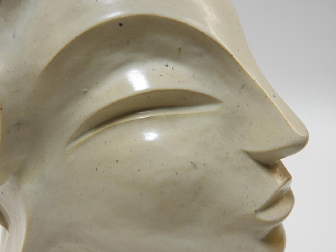 Aft Brancusi Modernist Pottery Muse Head Sculpture - 6