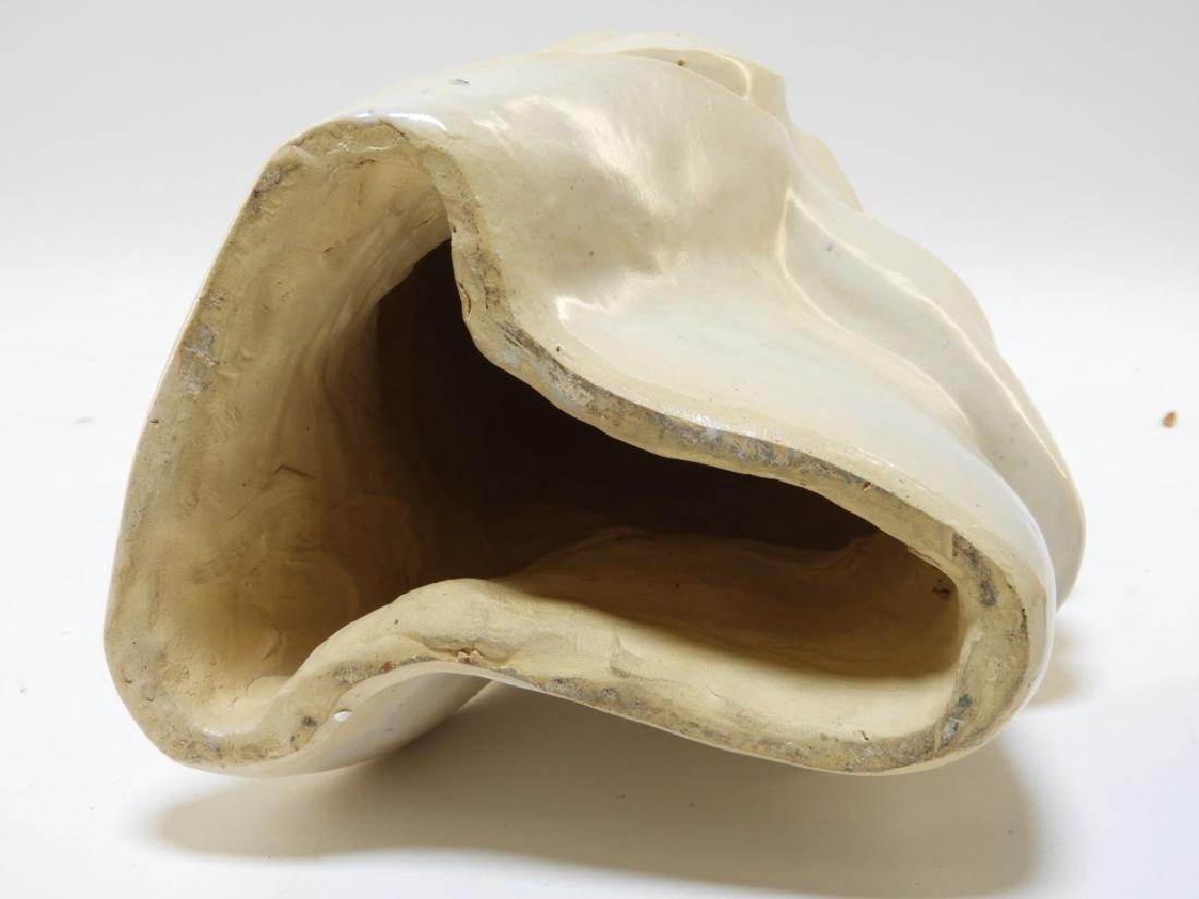 Aft Brancusi Modernist Pottery Muse Head Sculpture - 7