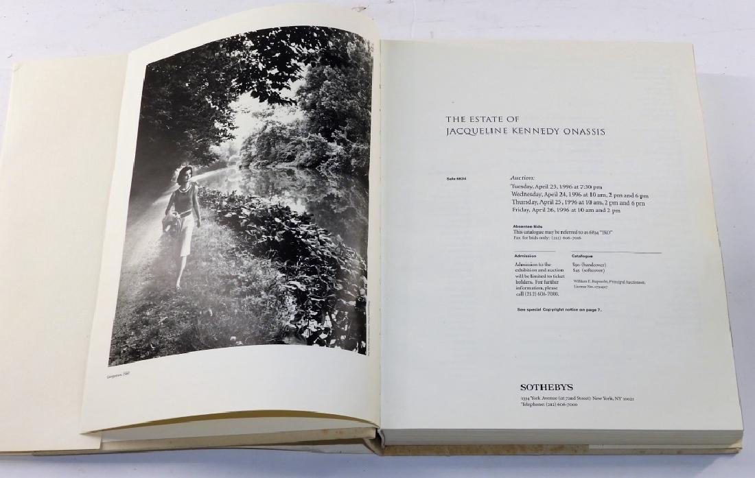 Jacqueline Kennedy Onassis Sothebys Sale Catalog