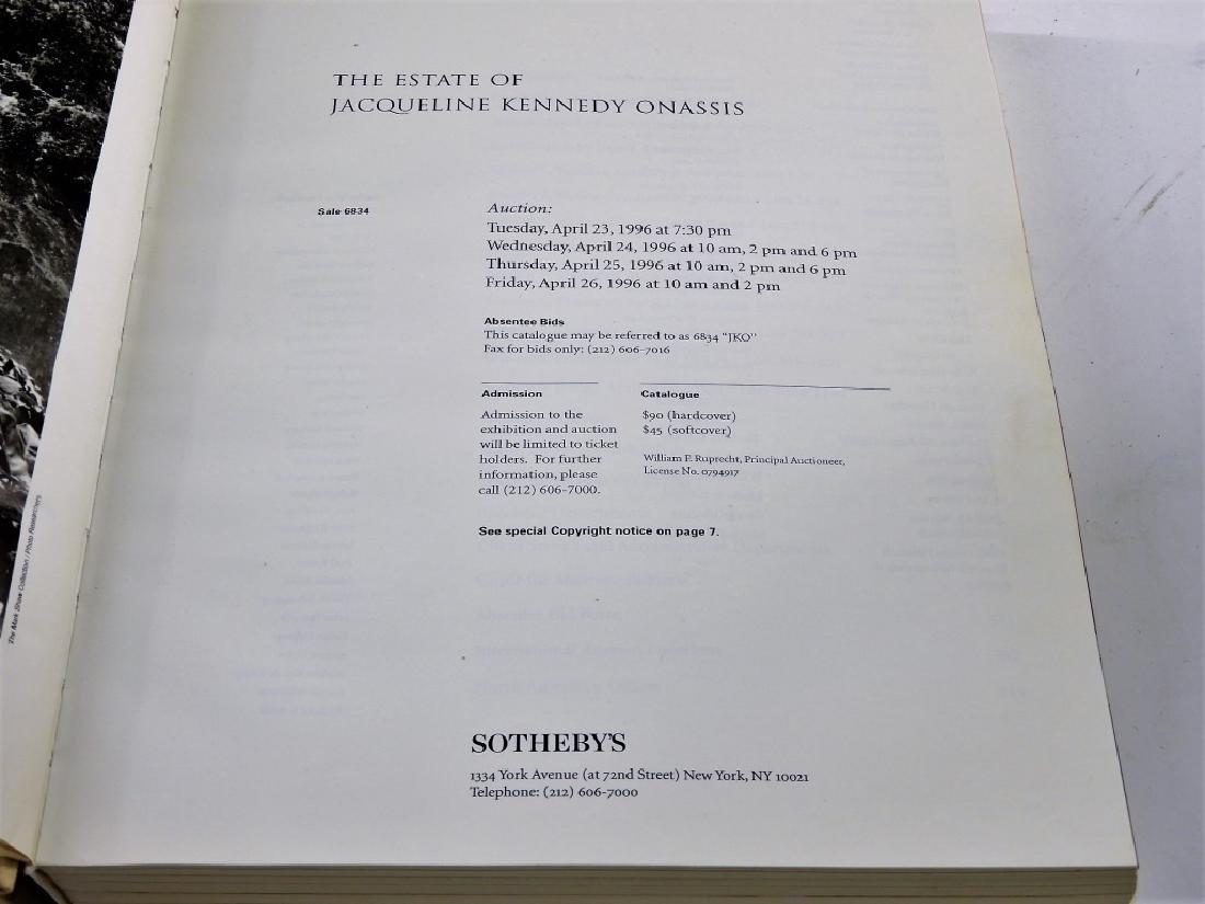 Jacqueline Kennedy Onassis Sothebys Sale Catalog - 2