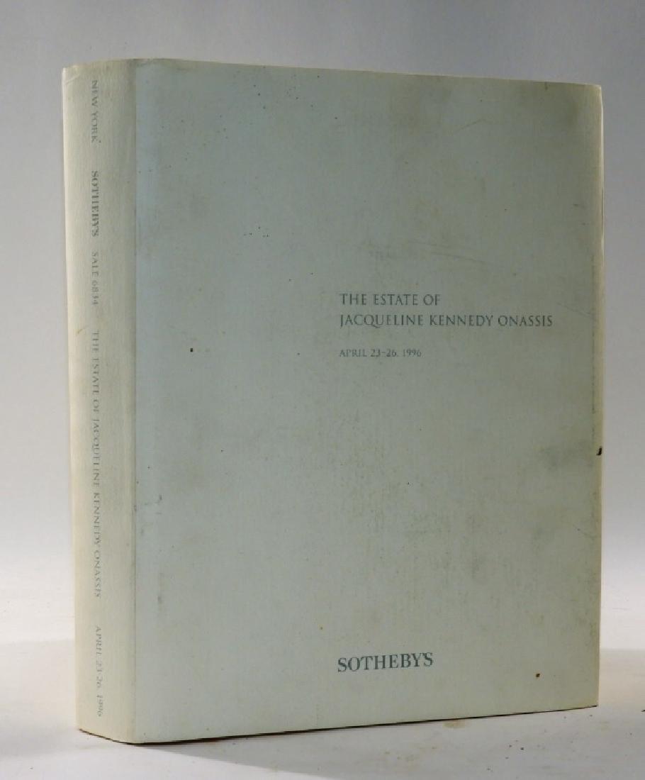 Jacqueline Kennedy Onassis Sothebys Sale Catalog - 3