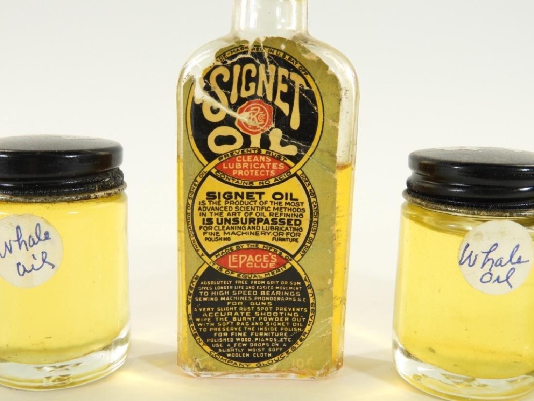 Bottle LePages Signet Sperm Whale Machine Oil - 2