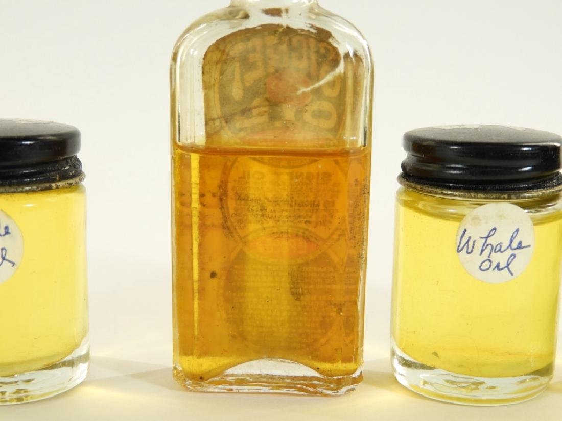 Bottle LePages Signet Sperm Whale Machine Oil - 4