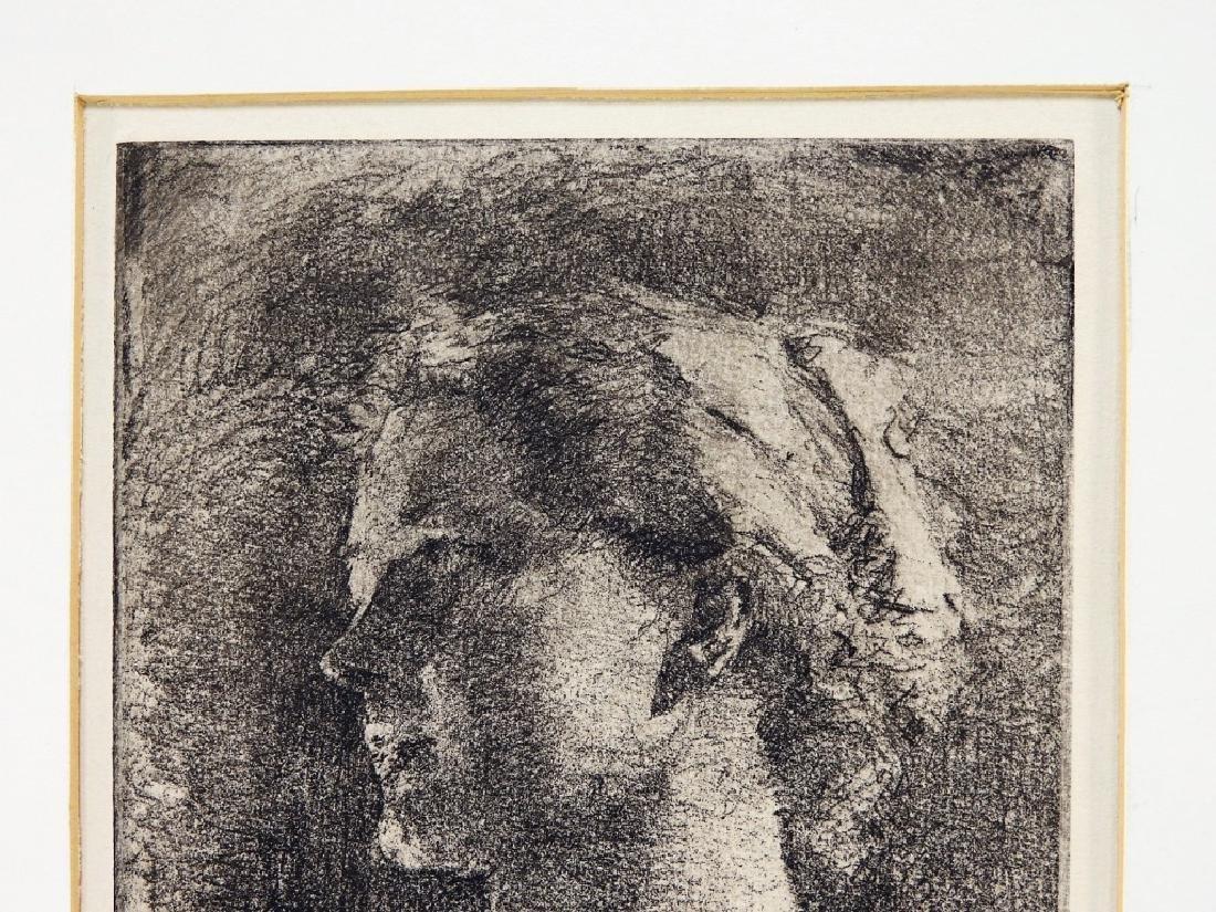 Henriette Oberteuffer MA Etching of Nude Female - 3