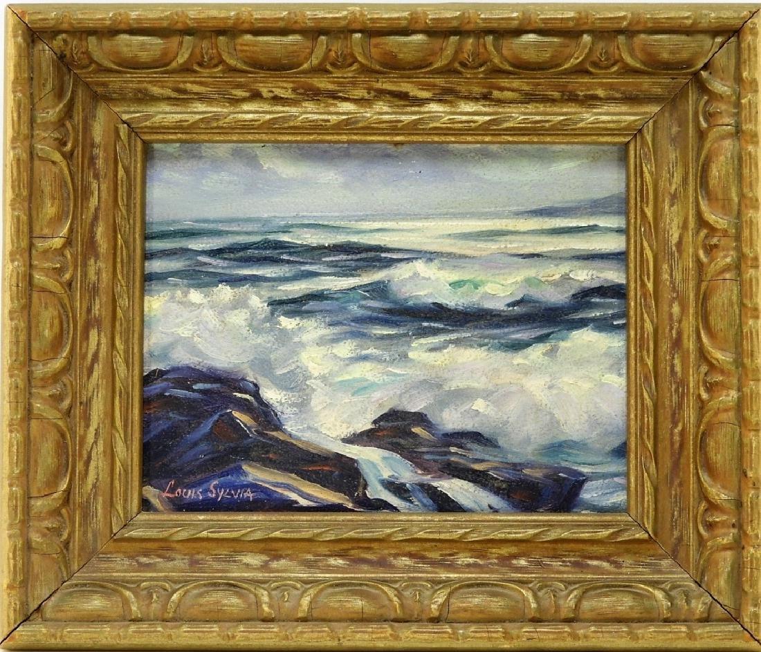 Louis Silvia Gloucester School Seascape Painting