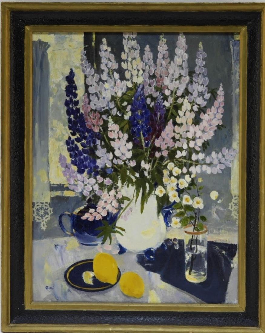 Sergei Rudnev Russian Still Life Lemons Painting