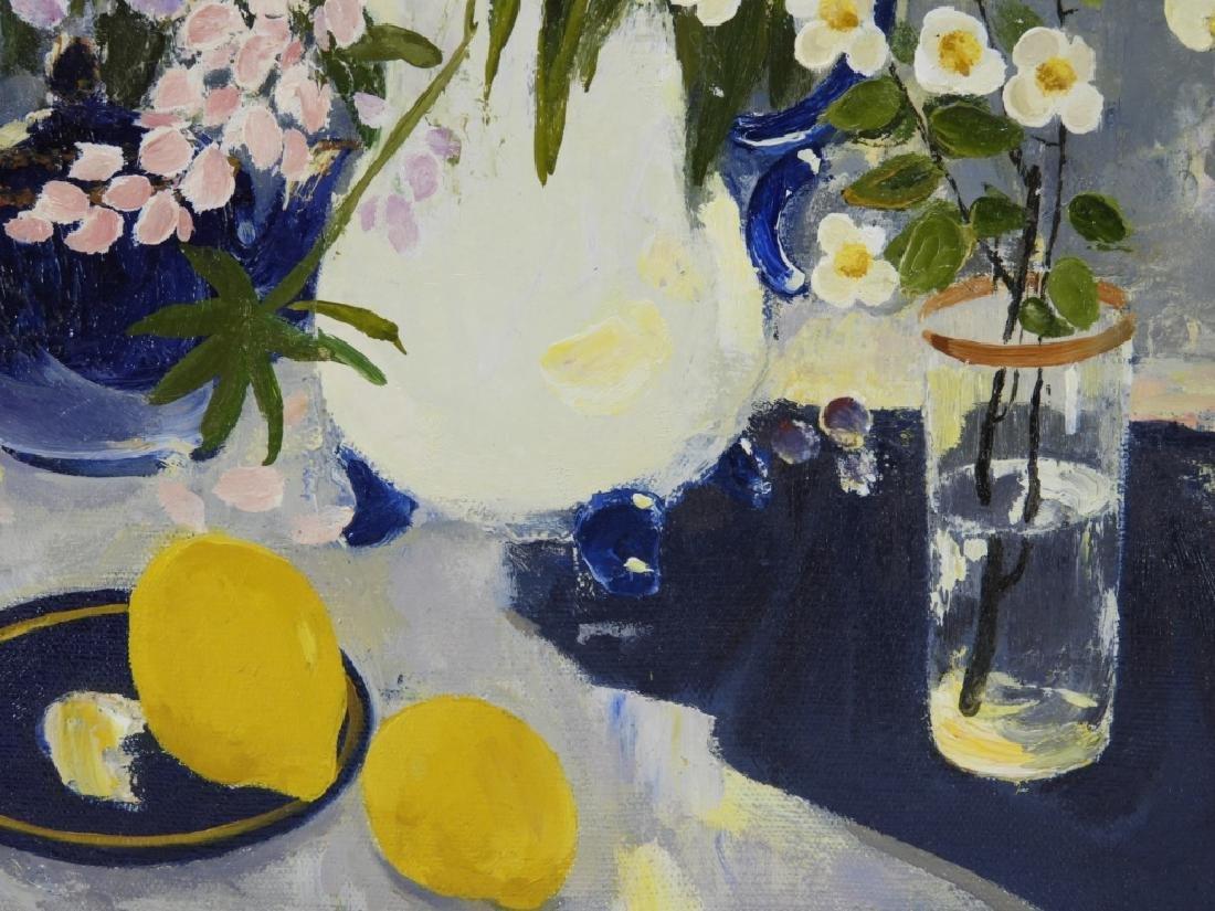 Sergei Rudnev Russian Still Life Lemons Painting - 3
