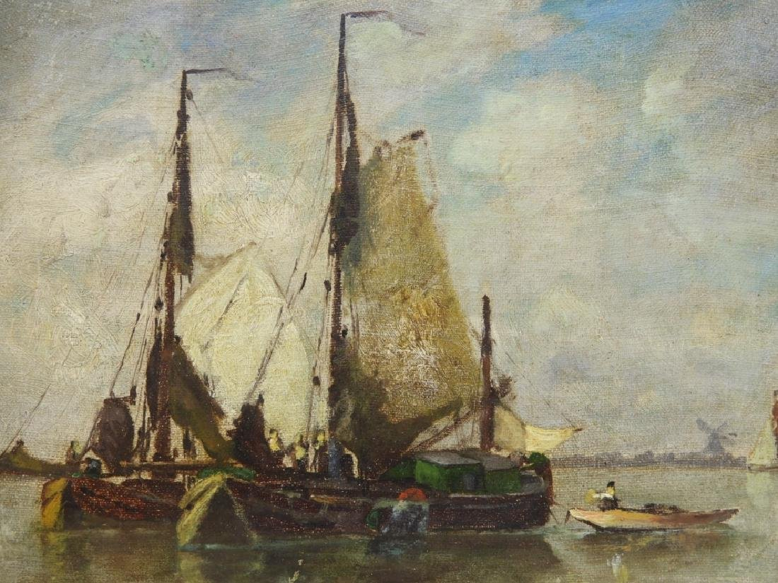 Walter Franklin Lansil O/B Impressionist Painting - 2