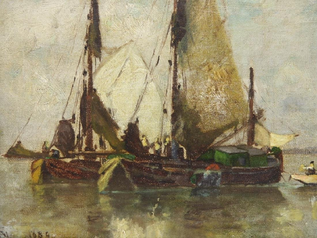 Walter Franklin Lansil O/B Impressionist Painting - 3
