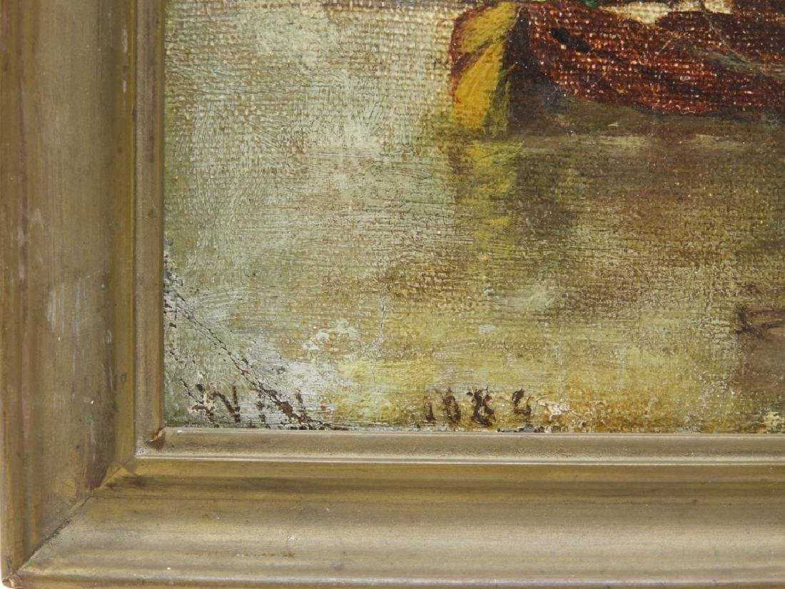 Walter Franklin Lansil O/B Impressionist Painting - 5