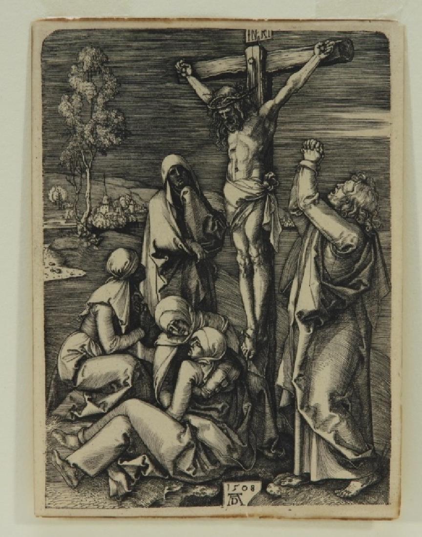 Albrecht Durer Crucifixion Engraving