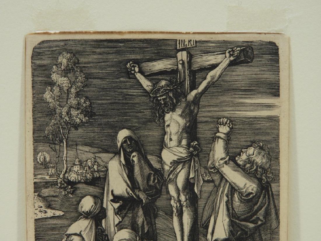 Albrecht Durer Crucifixion Engraving - 2