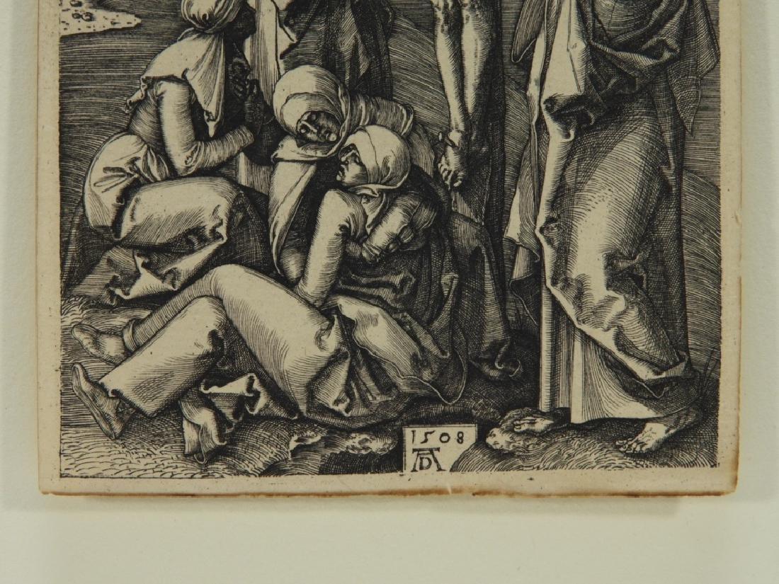 Albrecht Durer Crucifixion Engraving - 3