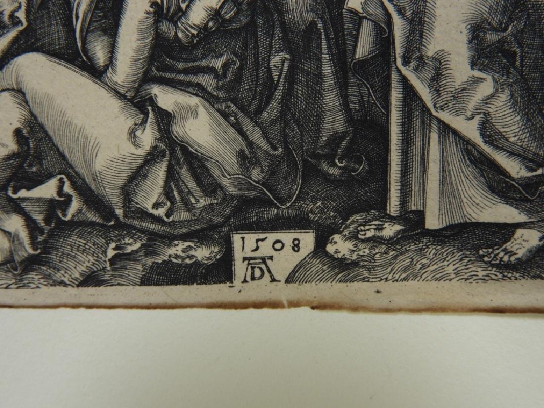 Albrecht Durer Crucifixion Engraving - 4